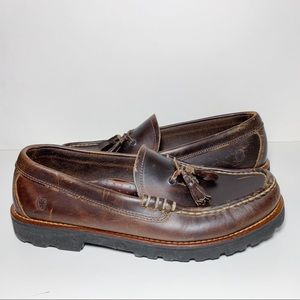 Tommy Hilfiger Classics Brown Leather Loafers
